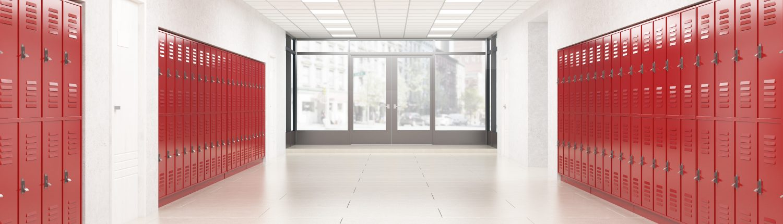 corridor and doors