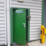 steel doors for warehouse
