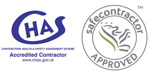 A&D Doors have safe-contractor & chas-accreditation